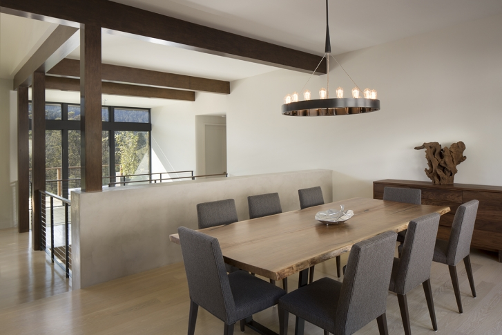 Open dining room in Home