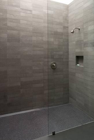 Customly Tiled Shower