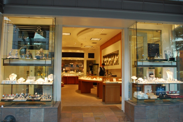 Jewelery Store front by Kasten Builders