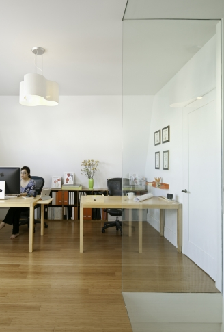 Large open office space