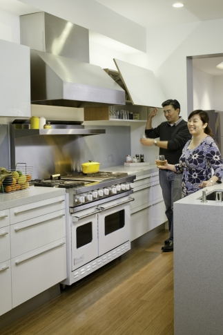 Kitchen in the Eddie House San Francisco