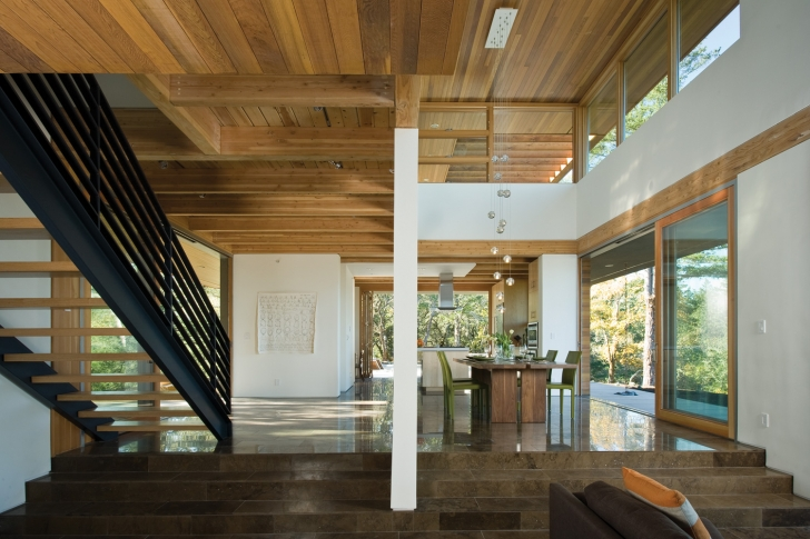 Interior of HP Home in Healdsburg