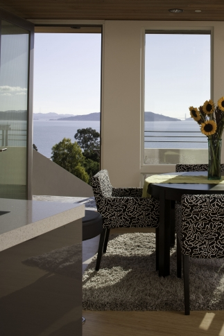 Dining Room overlooking San Francisco Bay