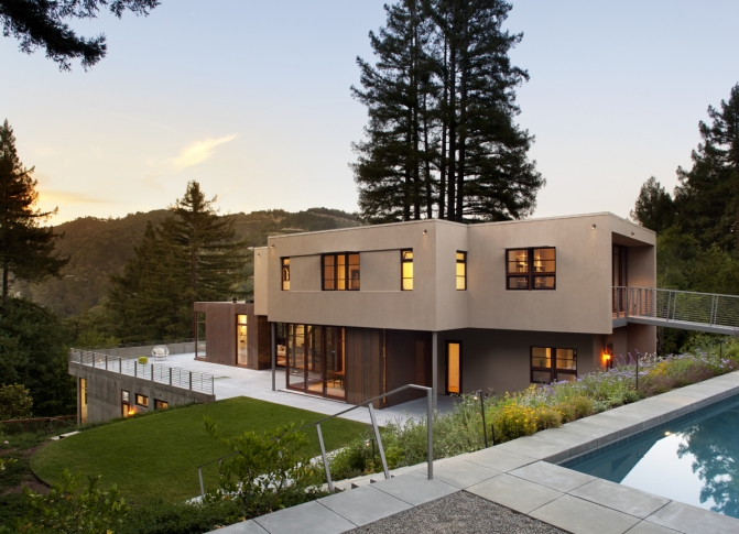 Home in Rural Mill Valley