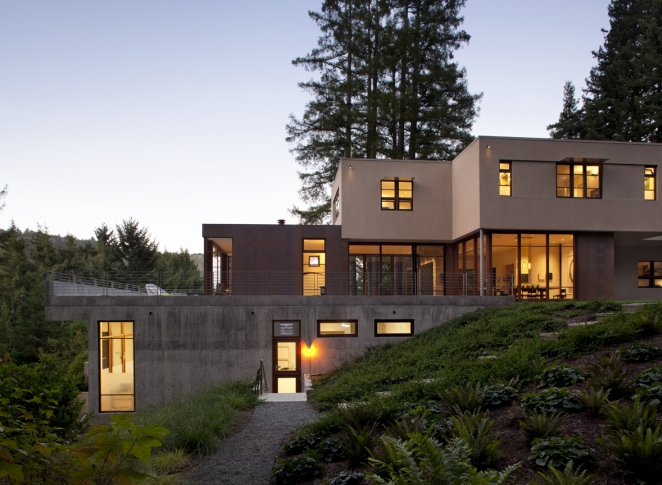 Modern Home Mill Valley