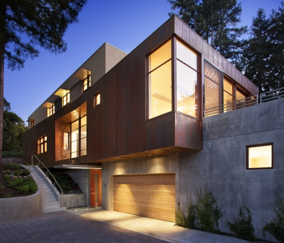 Exterior of Magee House by Kasten Builders