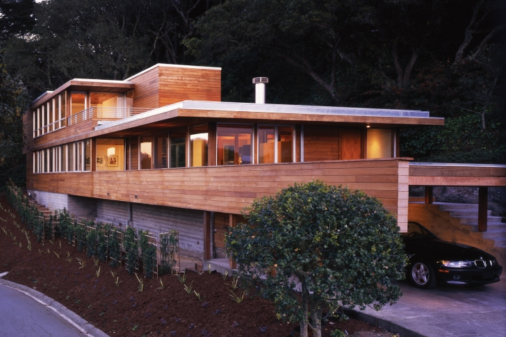 Modern All Wood Home